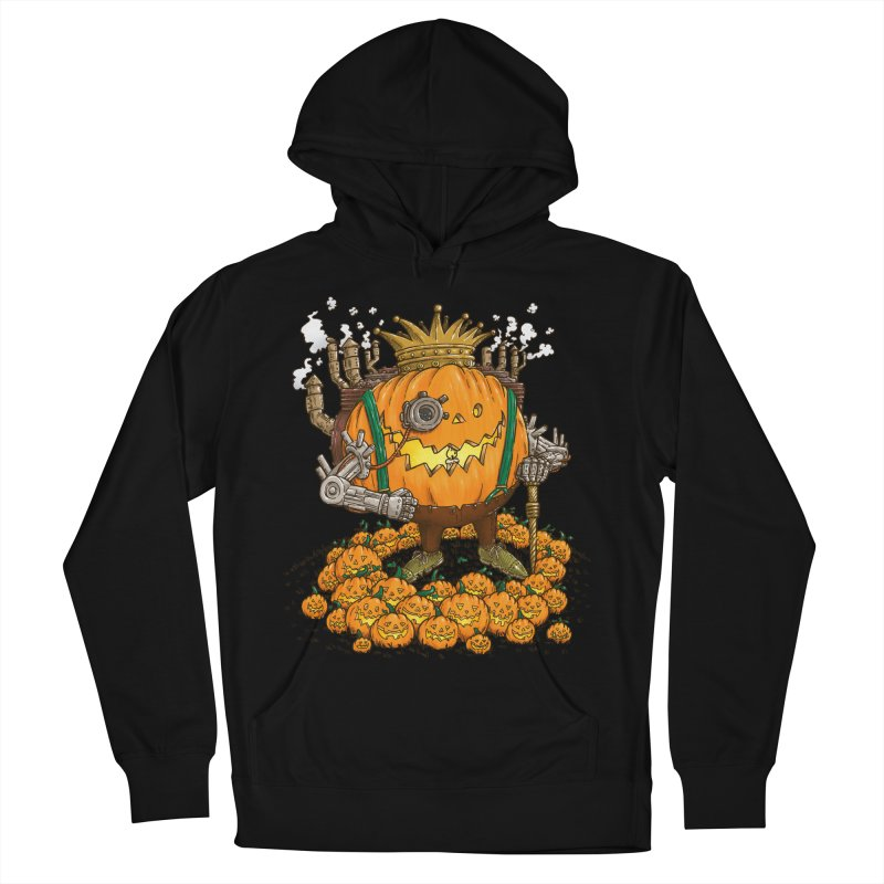 The Steampunk Pumpking Men's Pullover Hoody by nickv47