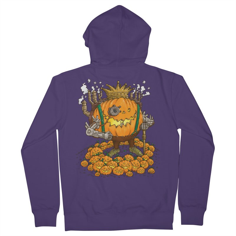 The Steampunk Pumpking Women's Zip-Up Hoody by nickv47
