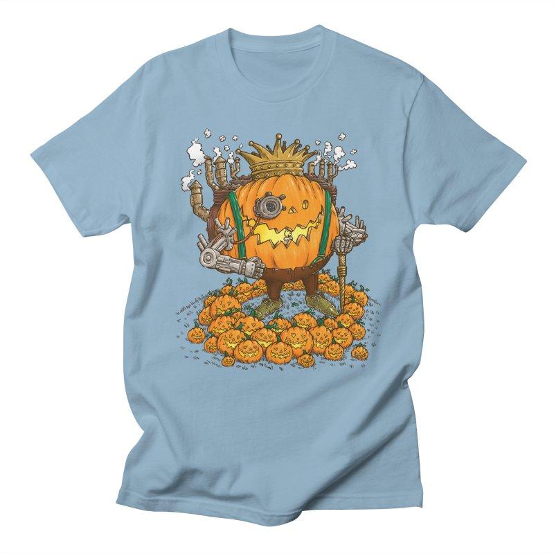The Steampunk Pumpking Men's T-shirt by nickv47