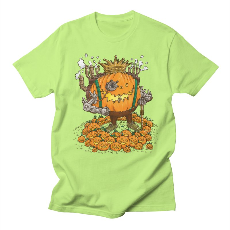 The Steampunk Pumpking Men's T-Shirt by nickv47