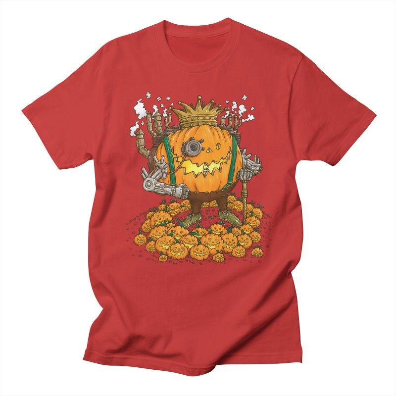 The Steampunk Pumpking Women's Unisex T-Shirt by nickv47