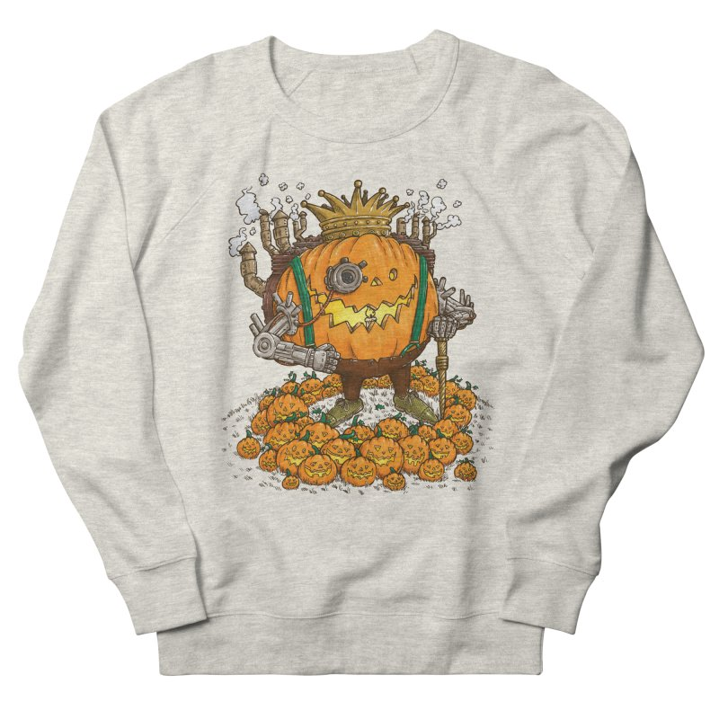 The Steampunk Pumpking Women's Sweatshirt by nickv47