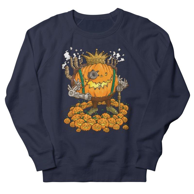 The Steampunk Pumpking Men's Sweatshirt by nickv47