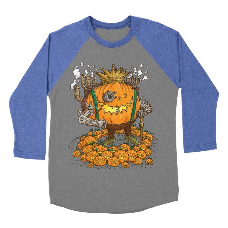The Steampunk Pumpking Women's Baseball Triblend T-Shirt by nickv47