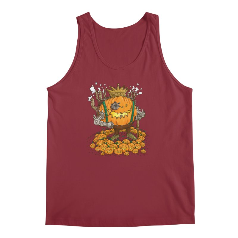 The Steampunk Pumpking Men's Tank by nickv47