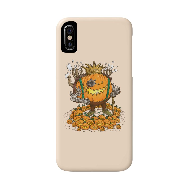The Steampunk Pumpking Accessories Phone Case by nickv47
