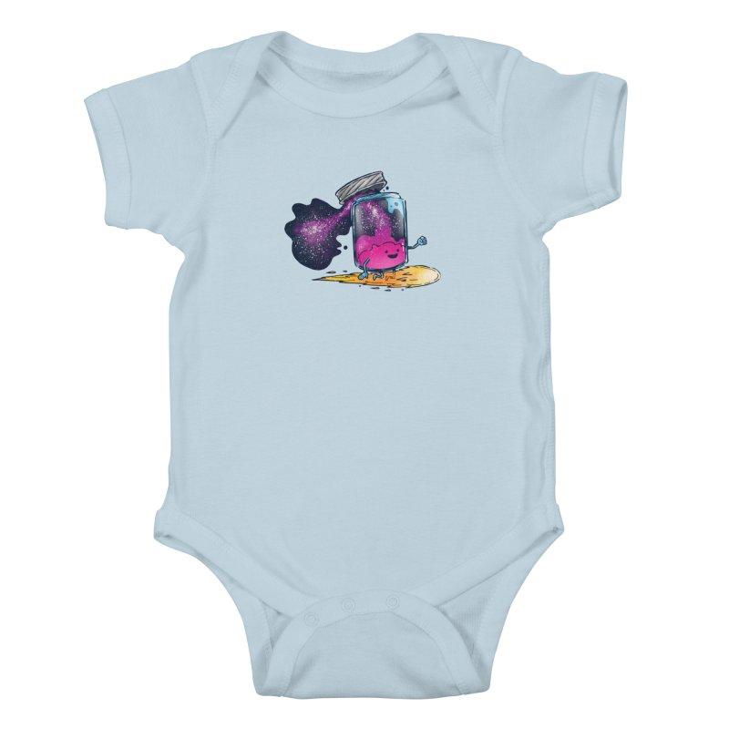 The Cosmic Jam Kids Baby Bodysuit by nickv47