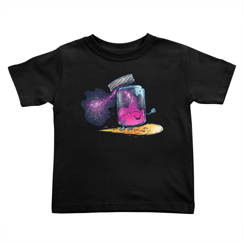 The Cosmic Jam Kids Toddler T-Shirt by nickv47