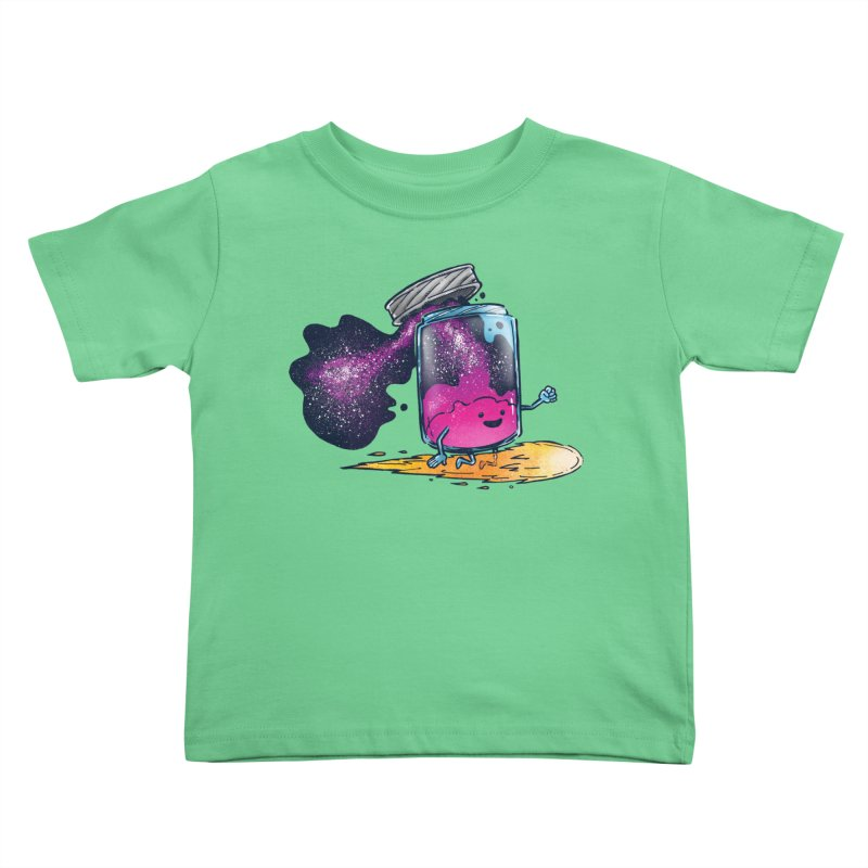 The Cosmic Jam Kids Toddler T-Shirt by nickv47