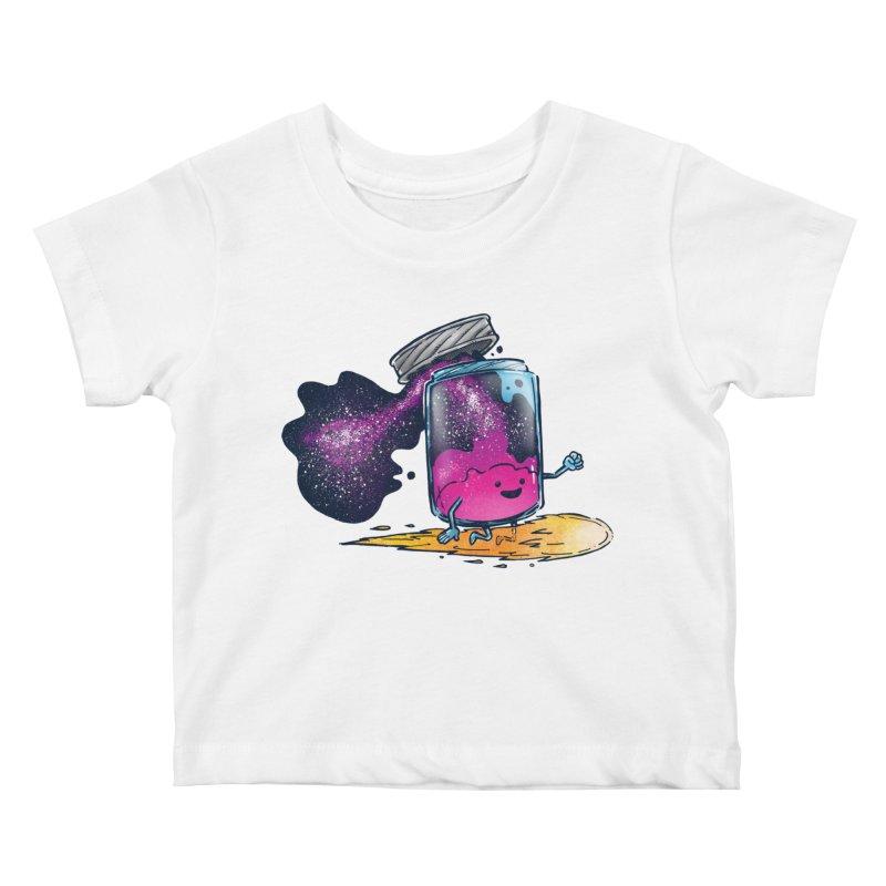 The Cosmic Jam Kids Baby T-Shirt by nickv47