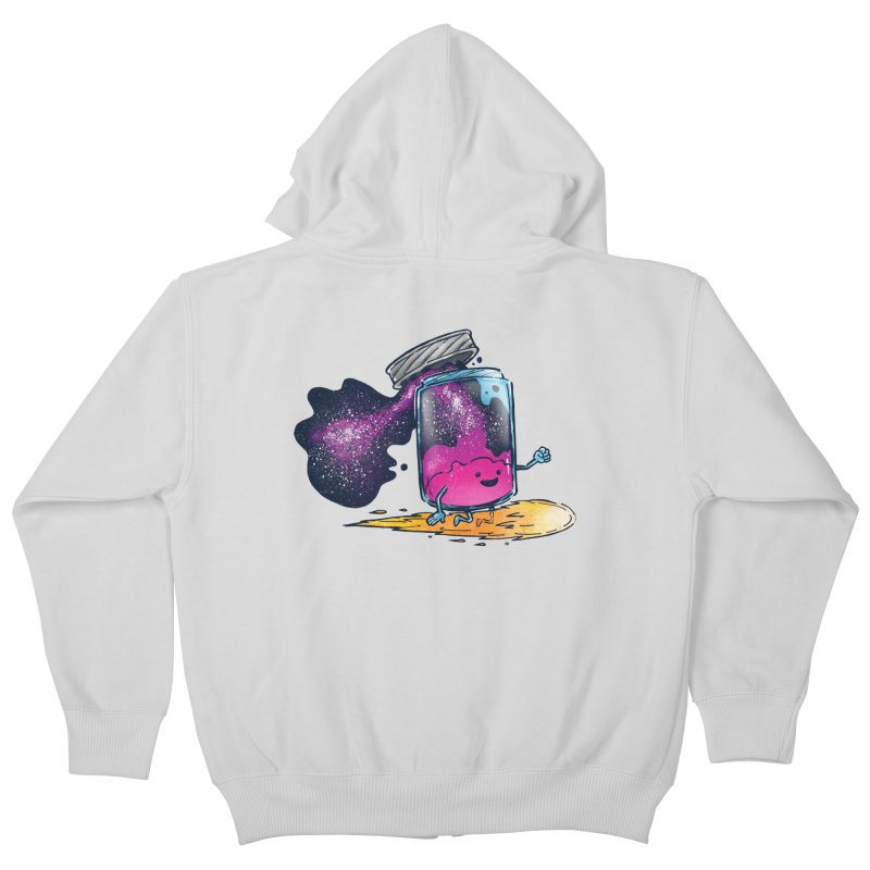 The Cosmic Jam Kids Zip-Up Hoody by nickv47