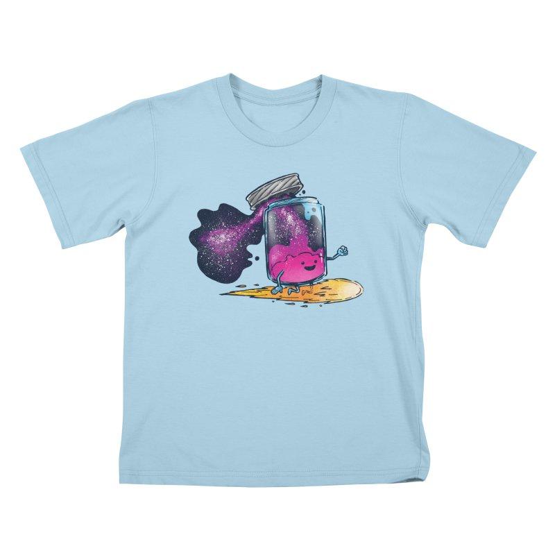 The Cosmic Jam Kids T-shirt by nickv47