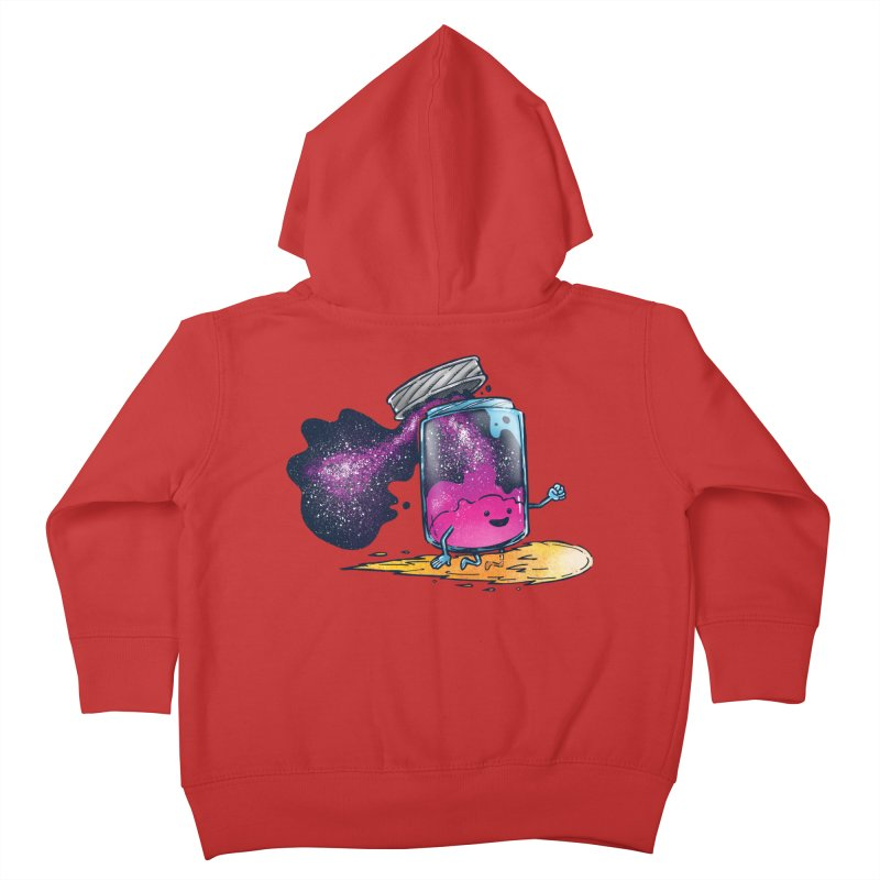 The Cosmic Jam Kids Toddler Zip-Up Hoody by nickv47
