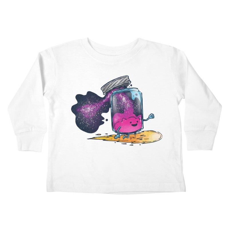 The Cosmic Jam Kids Toddler Longsleeve T-Shirt by nickv47