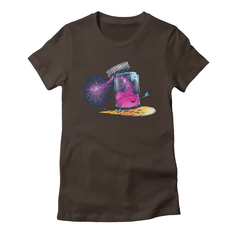 The Cosmic Jam Women's Fitted T-Shirt by nickv47