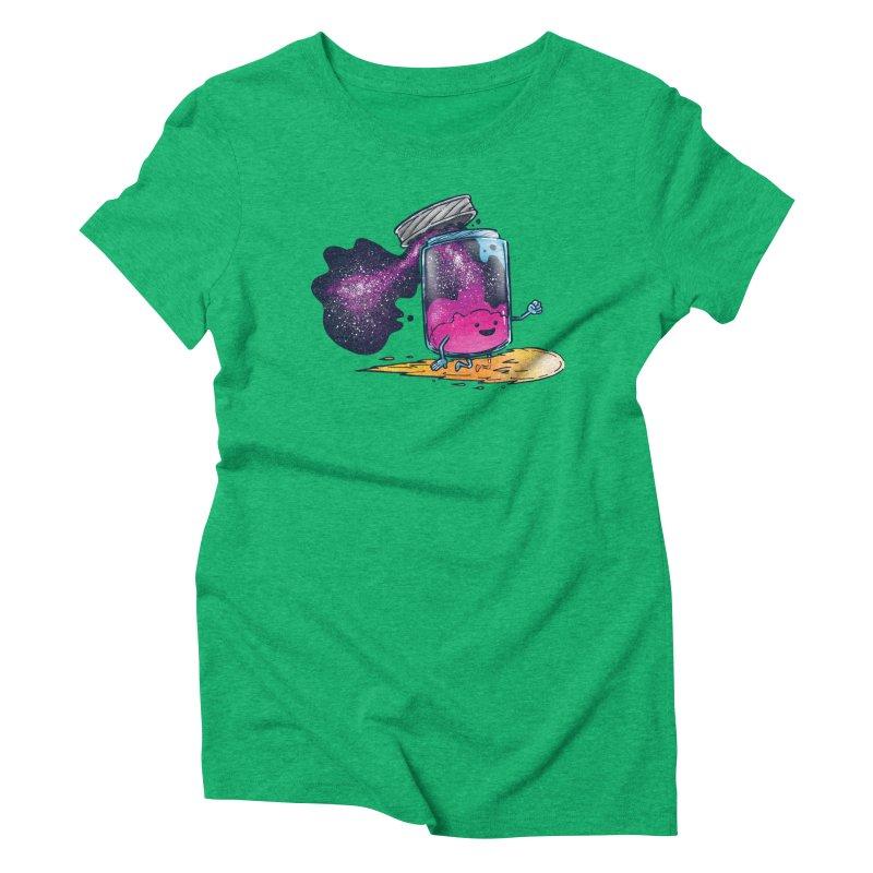 The Cosmic Jam Women's Triblend T-Shirt by nickv47