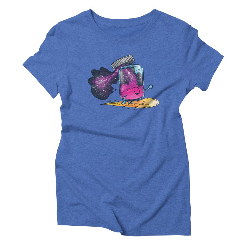 The Cosmic Jam Women's Triblend T-Shirt by nickv47