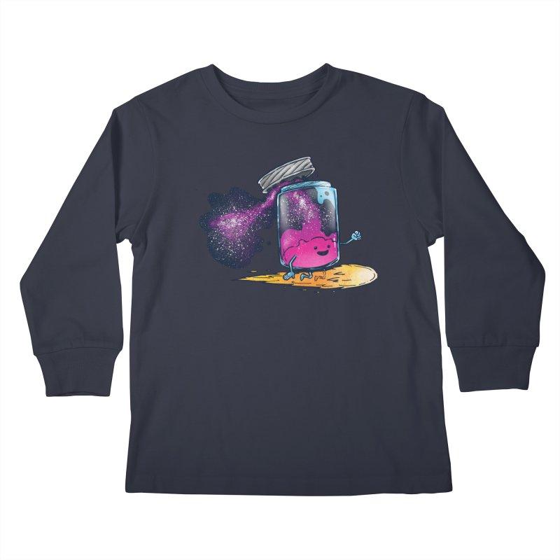 The Cosmic Jam Kids Longsleeve T-Shirt by nickv47