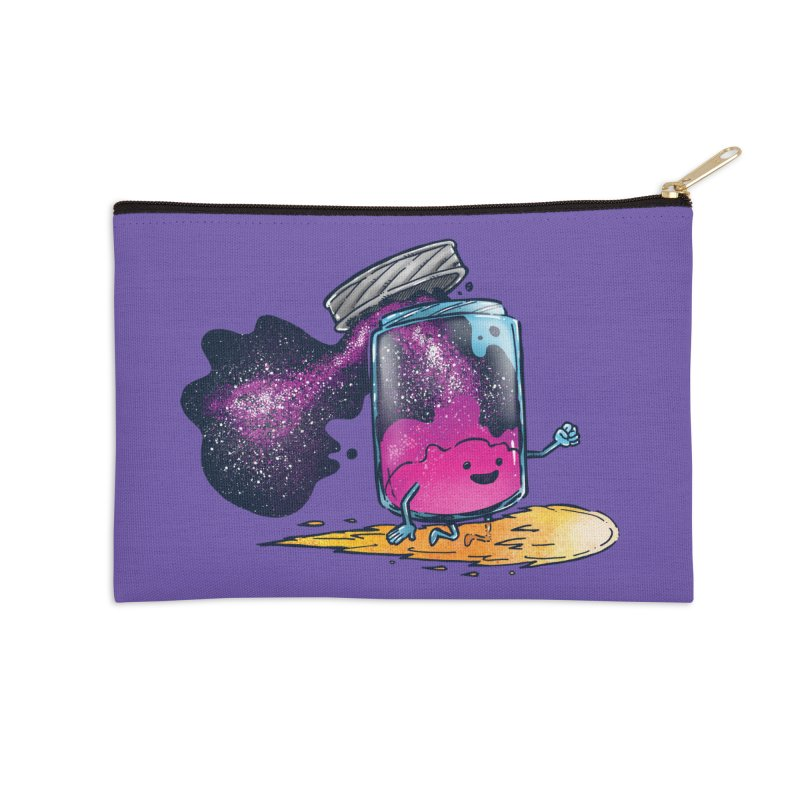 The Cosmic Jam Accessories Zip Pouch by nickv47