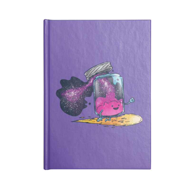 The Cosmic Jam Accessories Notebook by nickv47