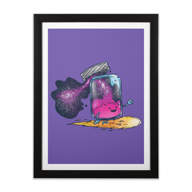 The Cosmic Jam Home Framed Fine Art Print by nickv47