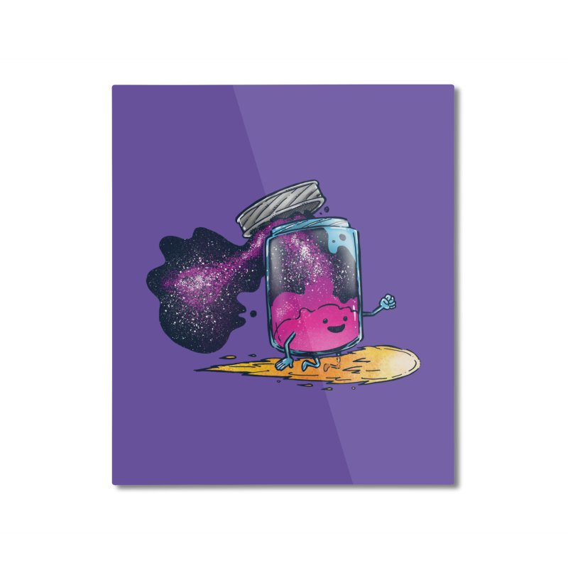 The Cosmic Jam Home Mounted Aluminum Print by nickv47
