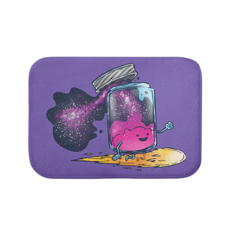 The Cosmic Jam Home Bath Mat by nickv47