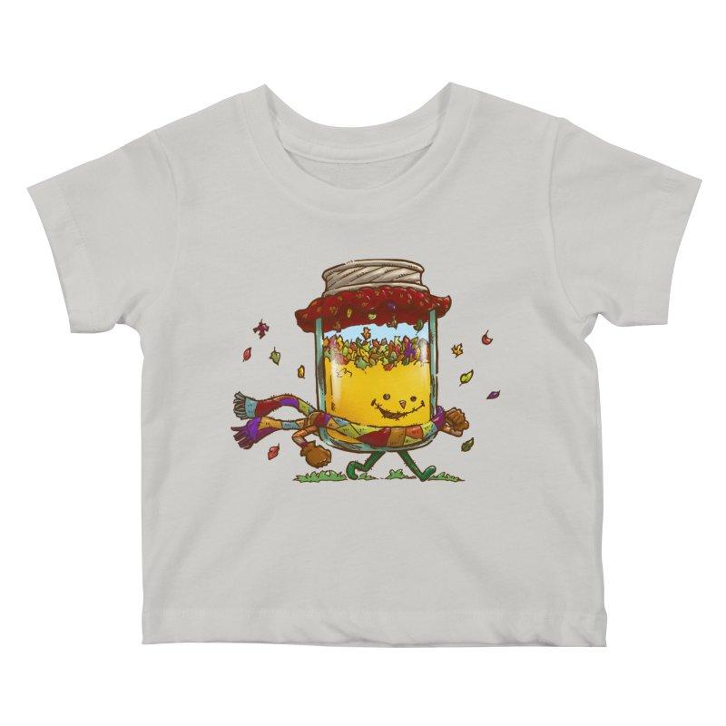 Fall Jam Kids Baby T-Shirt by nickv47