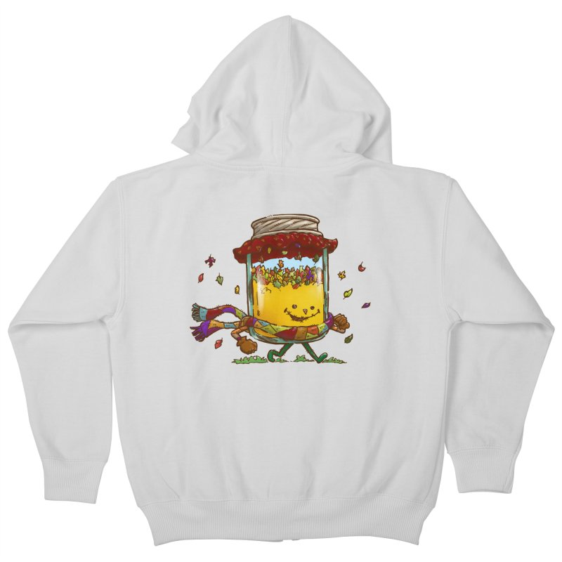 Fall Jam Kids Zip-Up Hoody by nickv47