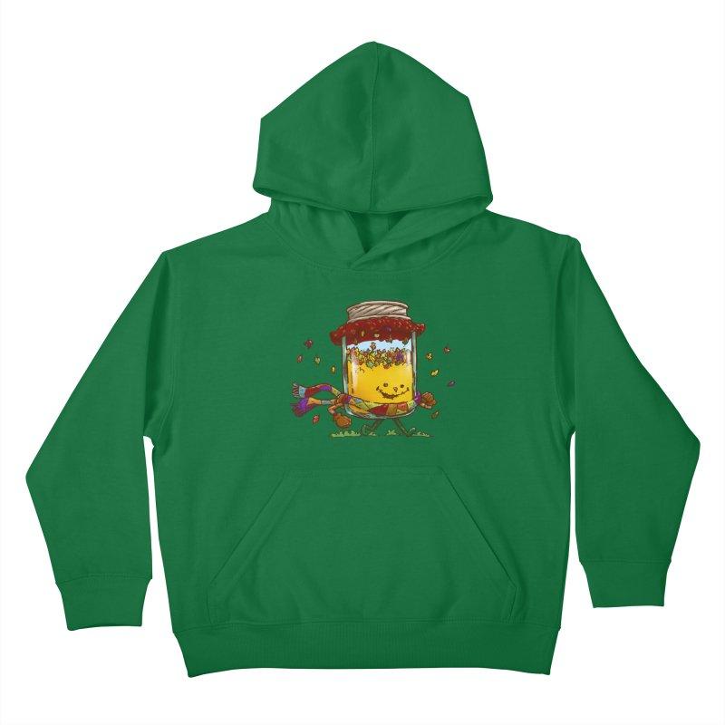 Fall Jam Kids Pullover Hoody by nickv47