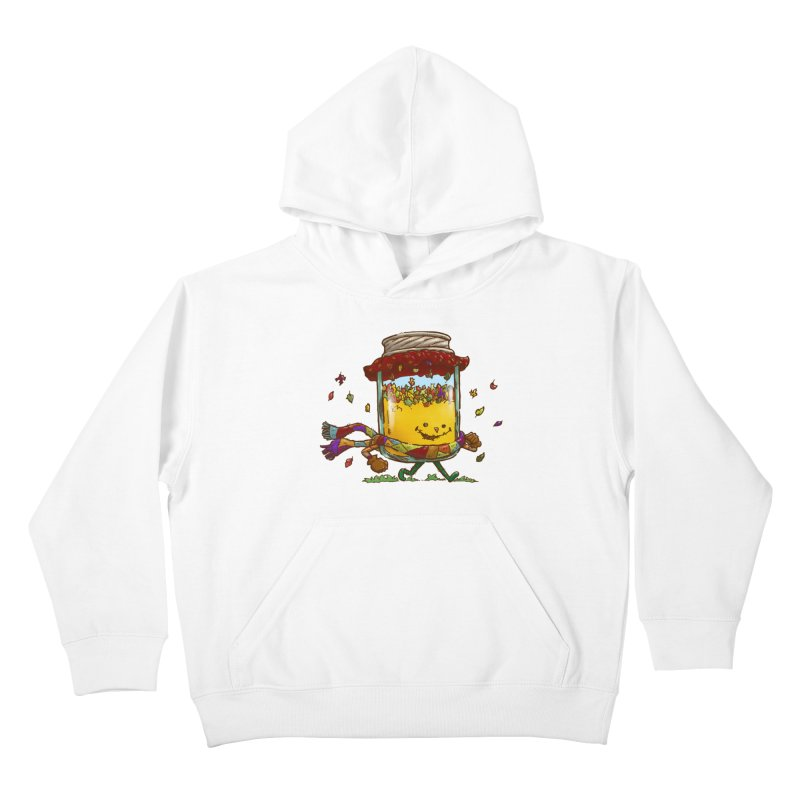 Fall Jam Kids Pullover Hoody by nickv47