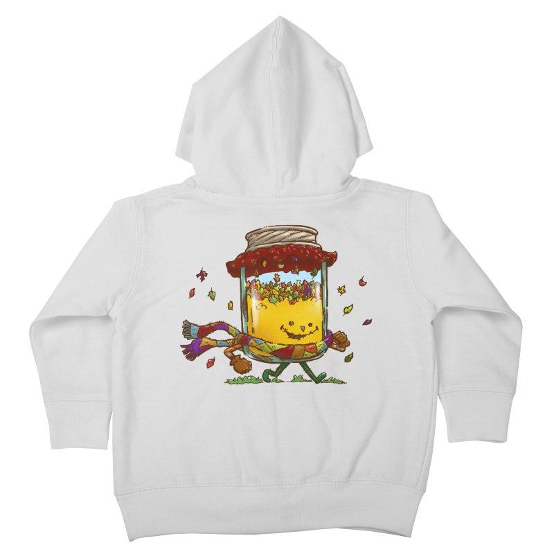 Fall Jam Kids Toddler Zip-Up Hoody by nickv47