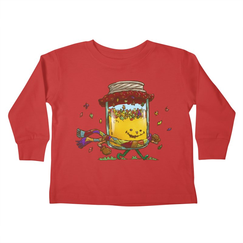 Fall Jam Kids Toddler Longsleeve T-Shirt by nickv47