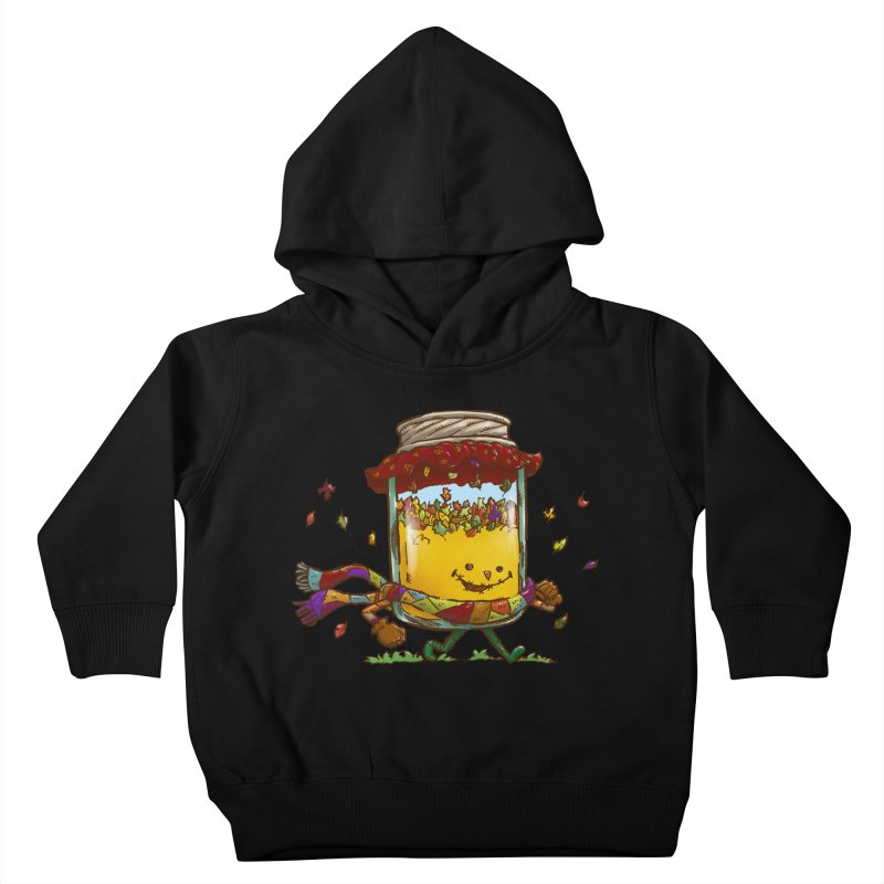 Fall Jam Kids Toddler Pullover Hoody by nickv47