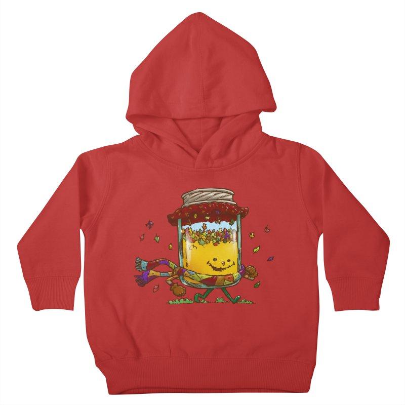 Fall Jam Kids Toddler Pullover Hoody by nickv47