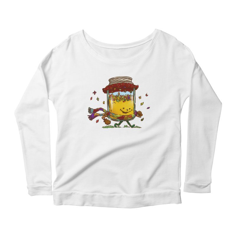 Fall Jam Women's Longsleeve Scoopneck  by nickv47