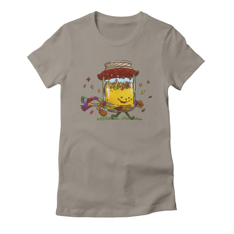 Fall Jam Women's Fitted T-Shirt by nickv47