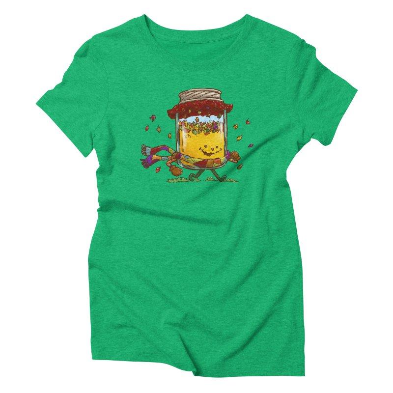 Fall Jam Women's Triblend T-Shirt by nickv47