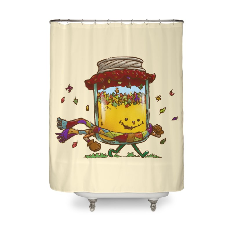 Fall Jam Home Shower Curtain by nickv47