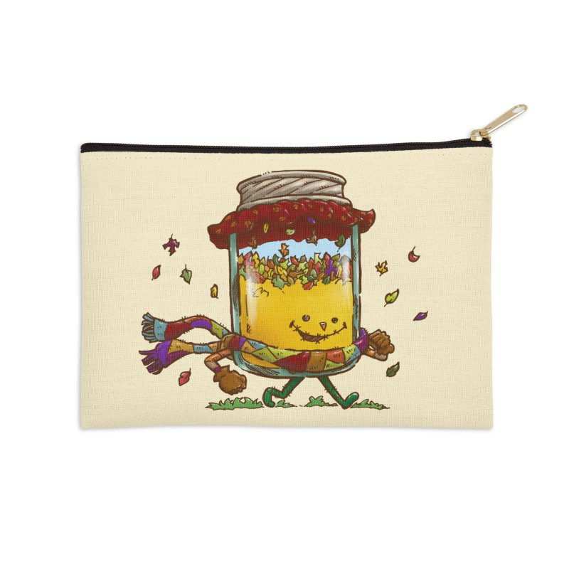Fall Jam Accessories Zip Pouch by nickv47