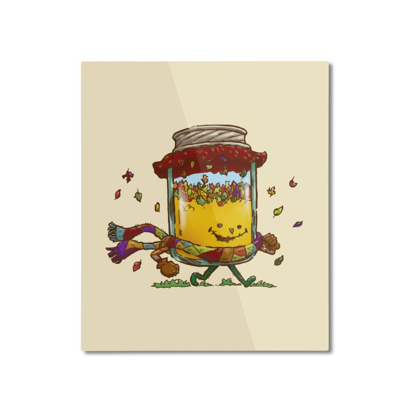 Fall Jam Home Mounted Aluminum Print by nickv47