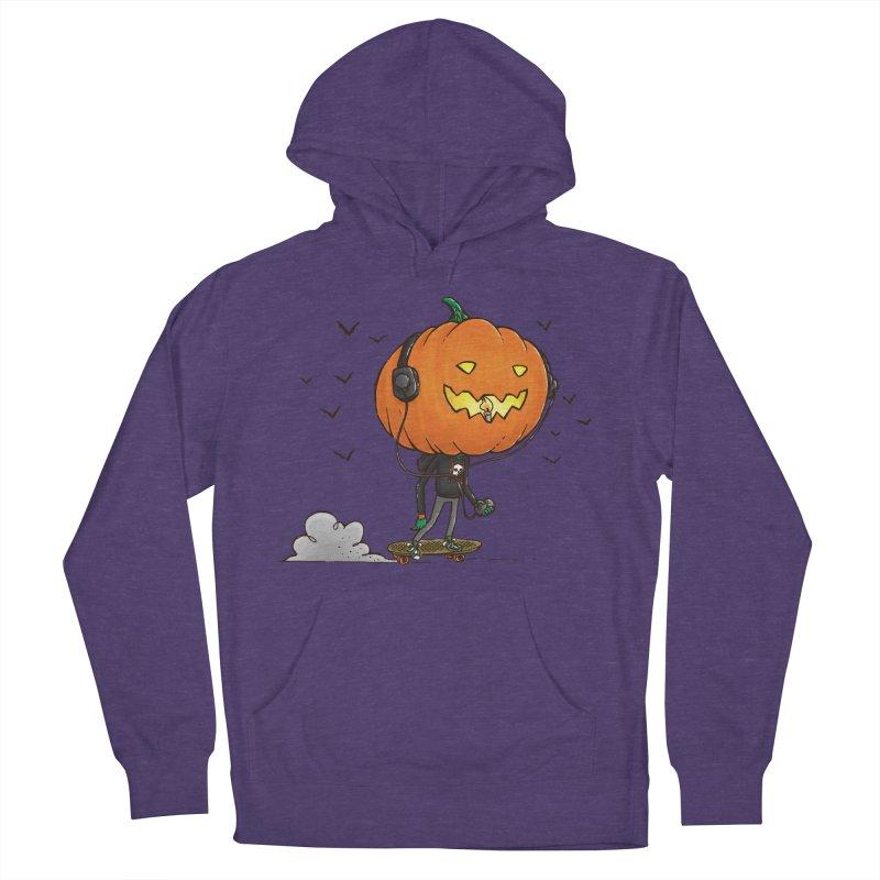 The Pumpkin Skater Women's Pullover Hoody by nickv47