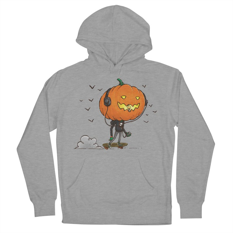 The Pumpkin Skater Men's Pullover Hoody by nickv47