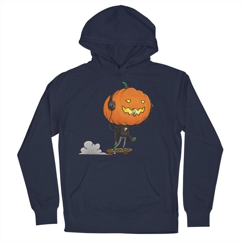 The Pumpkin Skater Men's Pullover Hoody by nickv47