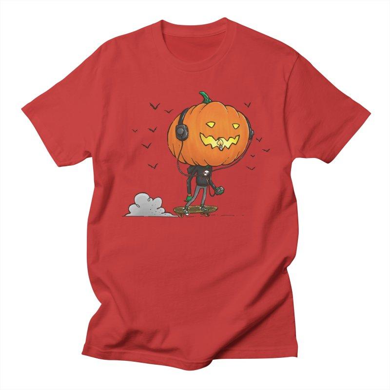 The Pumpkin Skater Women's Unisex T-Shirt by nickv47
