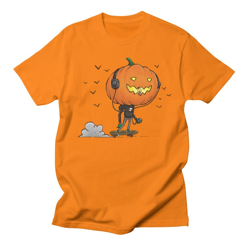 The Pumpkin Skater Men's T-Shirt by nickv47