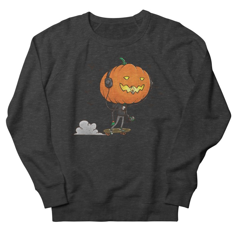 The Pumpkin Skater Women's Sweatshirt by nickv47