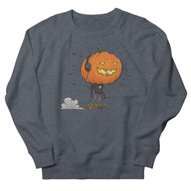 The Pumpkin Skater Men's Sweatshirt by nickv47