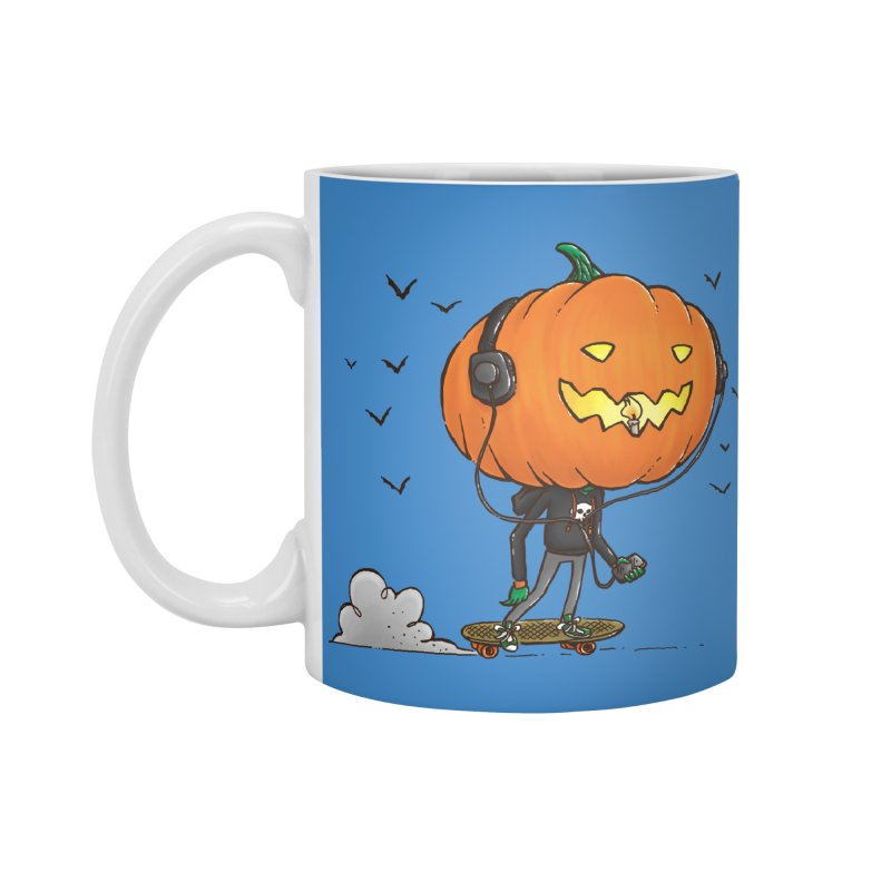 The Pumpkin Skater Accessories Mug by nickv47