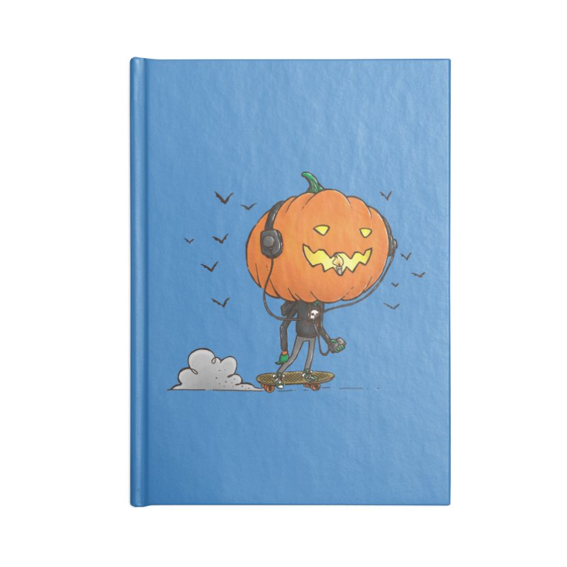The Pumpkin Skater Accessories Notebook by nickv47